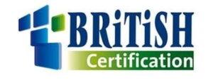 certificazioni british